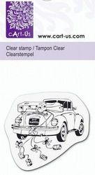 Cart-Us clear stamp trouwauto 211831079 (Locatie: NN254 )
