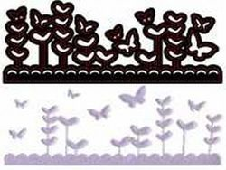 Crafts-Too snij/embosmal Butterfly Garden CTDI7012 (Locatie: NN278 )