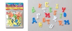 Darice foam stickers alfabet 104 stuks 1039-91 (Locatie: K3)