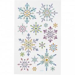 Diamond stickers, vel 10x15,5 cm, 284033 (Locatie: 2201)