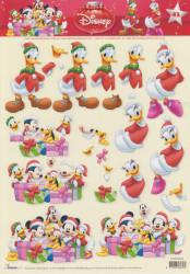 Disney knipvel kerstmis STAPDIS43 (Locatie: 6433)