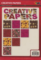 Doodey creative papers, 10 vel 5 designs, DV68101