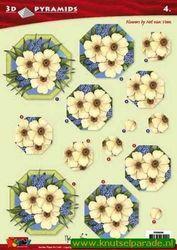 Doodey knipvel pyramids bloemen DV 96004 (Locatie: 6820)