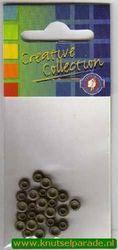 Eyelets antiek groen 25 stuks nr. 20407/26 (Locatie: 5RC1 )