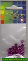 Eyelets metallic paars 25 stuks nr. 20413/05 (Locatie: 5RC1 )
