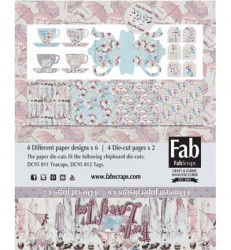 FabScraps Card Kit For the Love of Tea MC95001A (Locatie: 4230)