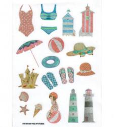 FabScraps Stickervel Beach Day ST93 001 (Locatie: 4612)