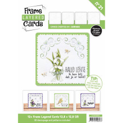 Frame Layered Cards 21 LC4K10021 (Locatie: 2332)