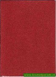 Glitterpapier A4 rood (Locatie: 6535)