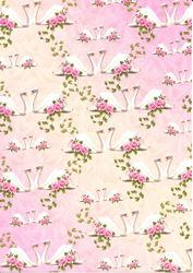 Hearty Crafts decoratiepapier zwanen HC560109 (Locatie: 2744)