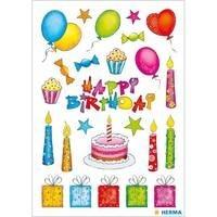 Herma stickers glitter verjaardag 2 vel 3363 (Locatie: HE002)