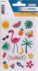 Herma stickers summerfeeling transpuffy 1 vel 15461 (Locatie: U188)