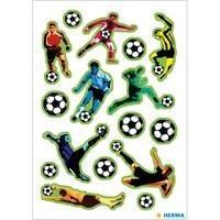 Herma stickers voetballer in actie 3 vel 15032 (Locatie: HE015)