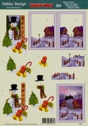 Hobby Design kerst 73057 (Locatie: 4502)