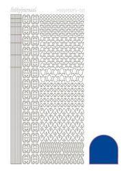 Hobbydots stickervel blauw STDA121 (Locatie: N252 )
