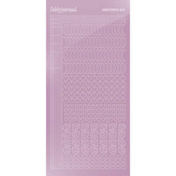 Hobbydots stickervel glanzend paars STDM173 (Locatie: H400)