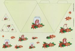 Hoca kerst knipvel pyramide 503 (Locatie: 2426)