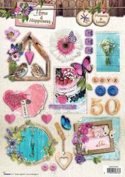 Home & Happiness 3DA4 Stansvel Pictures & Labels EASY551 (Locatie: 141)
