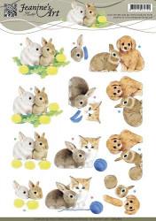 Jeanine's Art knipvel huisdieren CD10762 (Locatie: 5826)