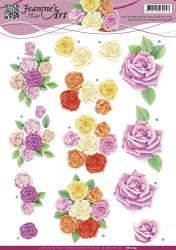 Jeanine's Art knipvel rozen CD10753 (Locatie: 4636)