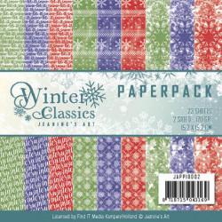 Jeanine's Art, Paperpack, 15.2 x 15.x cm, Winter Classics, JAPP10002 (Locatie: s2)