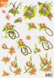 Joy Crafts knipvel bloemen 60101019 (Locatie: 2839)