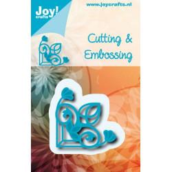 Joy! Crafts snij- enembosmal hoek 6002/0564 (Locatie: nn044)
