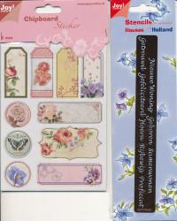 Joy! kaartenpakket Blooming Rose 9100/0021 (Locatie: 1734)