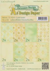 Le Crea Design, design paper, Christmas, A5 51.9241 (Locatie: S2)
