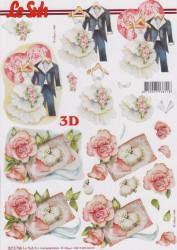 Le Suh 3D Knipvel Huwelijk 8215794 (Locatie: 2857)