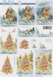 Le Suh knipvel kerst 777211 (Locatie: 1627)