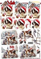 Le Suh knipvel Kerst Hond 8215758 (Locatie: 5564)