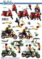 Le Suh knipvel scooters 777 412 (Locatie: 1181)