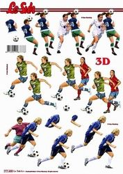 Le Suh knipvel voetbal 777435 (Locatie: 6659)
