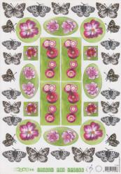 Marianne design knipvel bloemen IT 428 (Locatie: 0136)