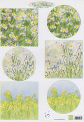 Marianne Design knipvel bloemen IT601 (Locatie: 2579)