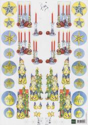 Marianne Design knipvel kerst IT504 (Locatie: 2423)