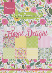 Marianne Design Pretty Papers Bloc Floral Delight A5 PK9161