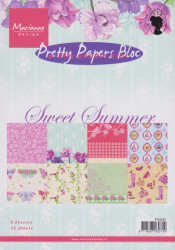 Marianne Design Pretty Papers Bloc Sweet summer A5 PK9081