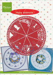 Marianne Design snij- embos- en borduurstencil Suzy 009 (Locatie: L137 )