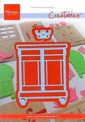 Marianne Design snij- en embosmal Sweet Cabinet LR0314 (Locatie: U370)