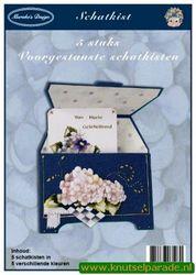 Marieke's Design Schatkist op linnenart karton (Locatie: 5904)