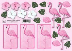 Marjoleine knipvel flamingo 8717853321368 (Locatie: 1125)
