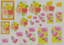 Mireille knipvel bloemen E665 (Locatie: 2233)