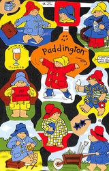 Poezieplaatje Paddington Bear MLP1926 (Locatie: MP086)