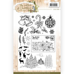Precious Marieke Clear Stamp The Nature of Christmas PMCS10021 (Locatie: k150)
