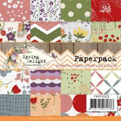 Precious Marieke, Paperpack, 15.2 x 15.2 cm, Spring Delight, PMPP10026