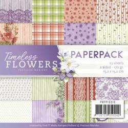Precious Marieke, Paperpack, 15.2 x 15.2 cm, Timeless Flowers, PMPP10018