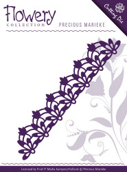 Precious Marieke snijmal bloemen rand PM10061 (Locatie: D97)