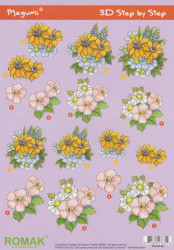 Romak knipvel bloemen P000046 (Locatie: 2874)